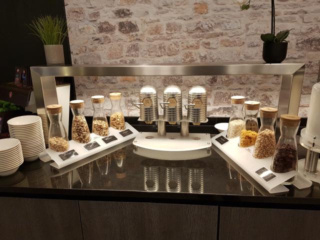 Café da Manhã - Opções de Cereais