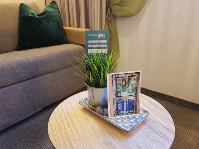 Novotel Frankfurt City - Detalhes My Room by Cindy