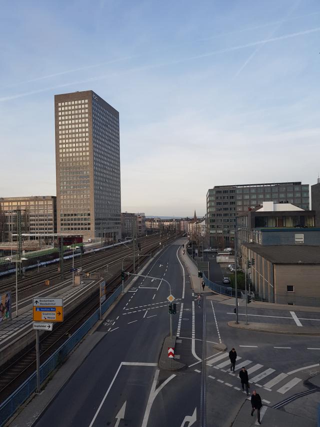 Novotel Frankfurt City - Estação de Metrô