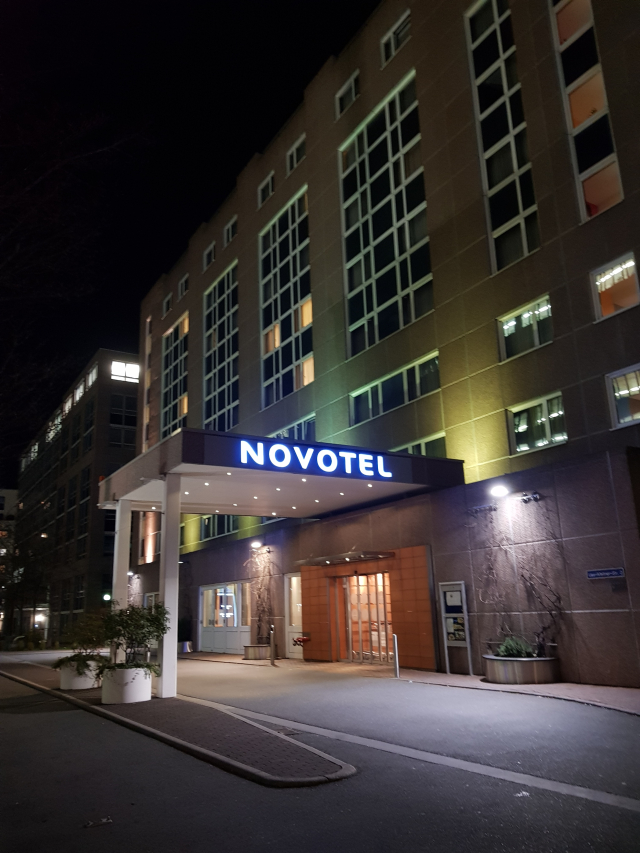Novotel Frankfurt City - Fachada